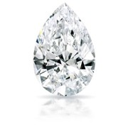 GIA-CERTIFIED 1.16 CARATS PEAR CUT I1-D COLOR DIAMOND