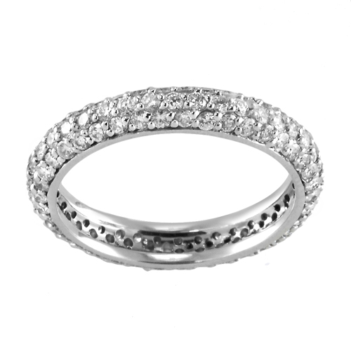 14k white gold eternity ring 1 20 ctw