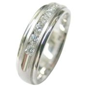 14K Gold Diamond Wedding Bands  14KDJ1458