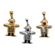 Your Choice Of 14KT Boy  Kids Charm Pendant.