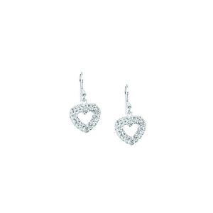Dangle Earring, Ss Earrings / White Resin