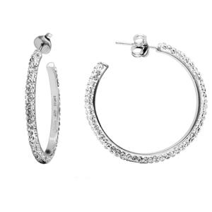 Hoop Earrings, Sm. Hoop Ear/Clear