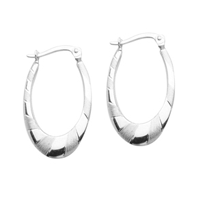 Hoop Earrings, Ss Designer Artform Ear