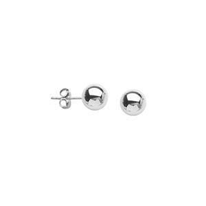 Ball Earring, Ss 5Mm Ball Post Earring