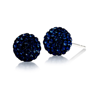Football Earring, Spirit 8Mm Ball Stud Ea/Penn State
