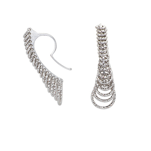 Hoop Earrings, Ss 23.5M Grad.Dc Circle Wire Earring