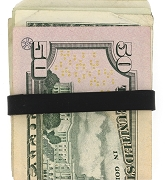Elastic Rubber Band to secure your Money, credit Cards