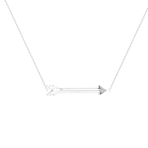 Arrow Necklace - , 18 Inches Long