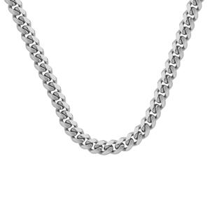 Silver Chain, 8.85/3.25 MM Miami Cuban 251