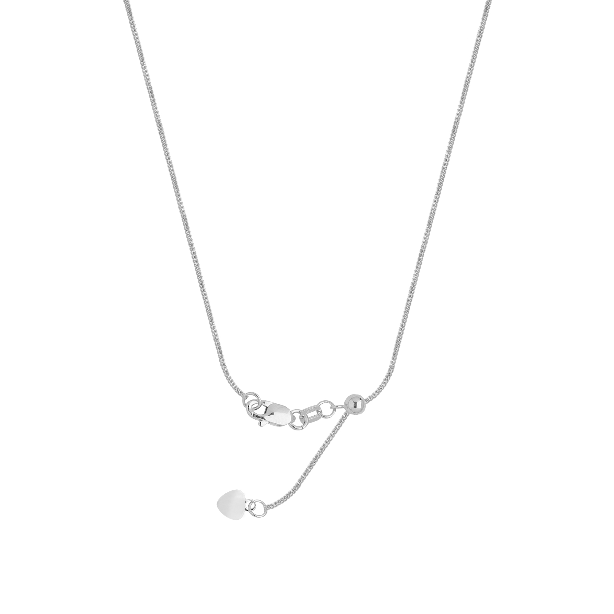 14Kt Gold Diamond Cut Cable Chain With Lobster Lock Cable Chain 20 Inches Long