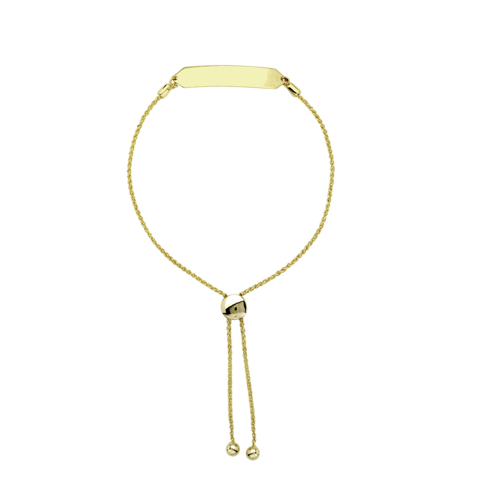 Bracelets, 14K Gold Bracelet, 9.50