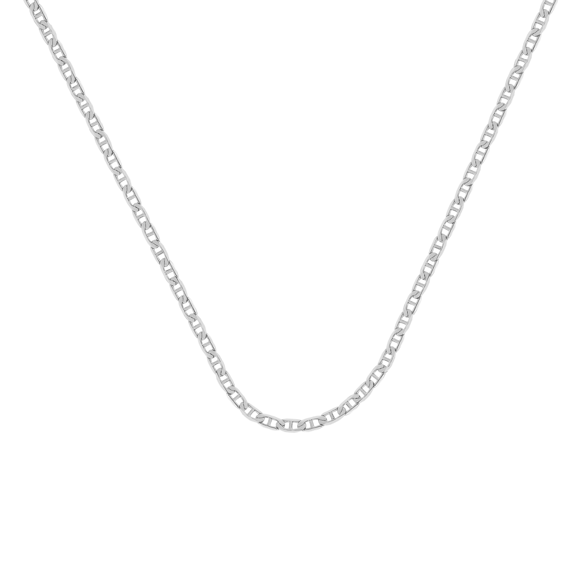 Mariner Chain , 14Kt Gold  Mariner Chain With Lobster Lock / 20