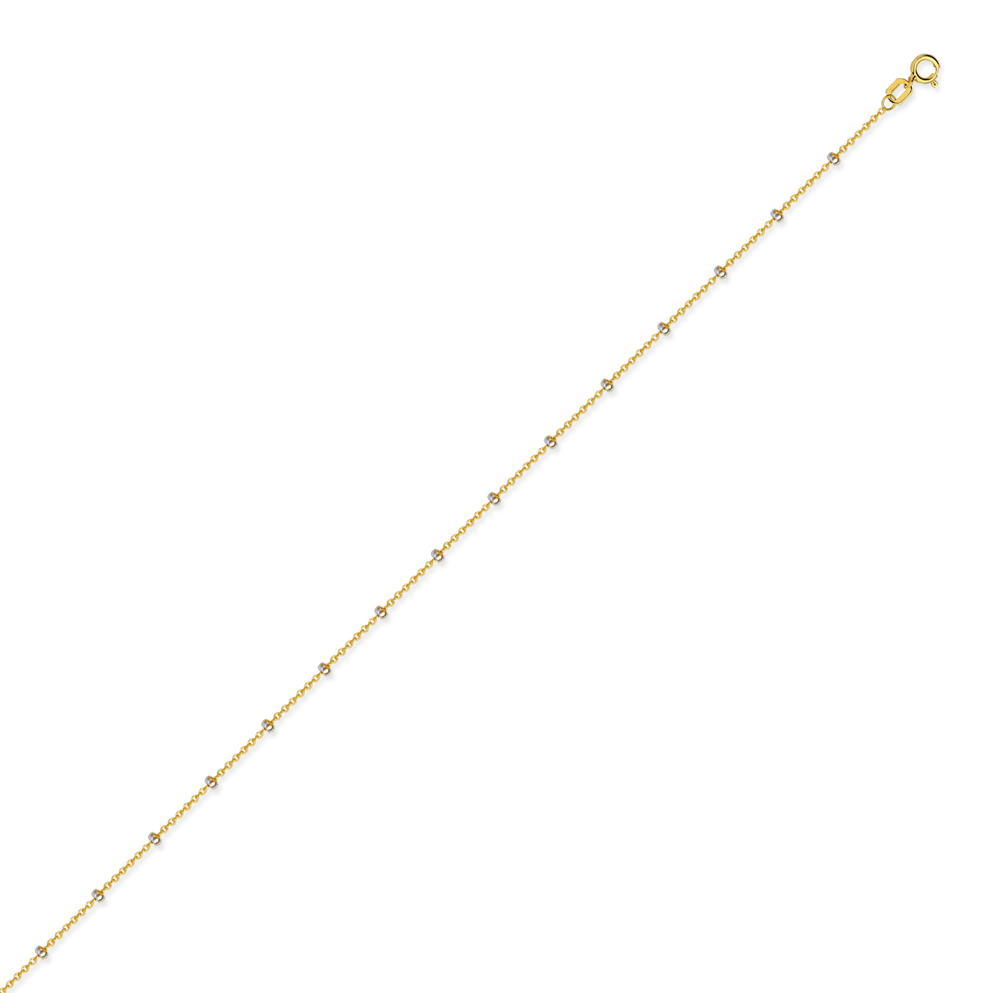 Cable Chain , 14Kt Gold  Cable Chain  / 24
