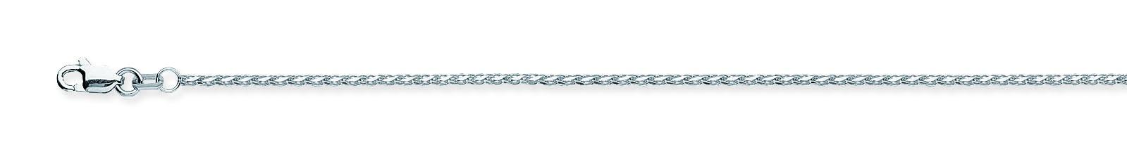 Wheat Chain , 14Kt Gold  Diamond Cut Wheat Chain With Lobster Lock / 20