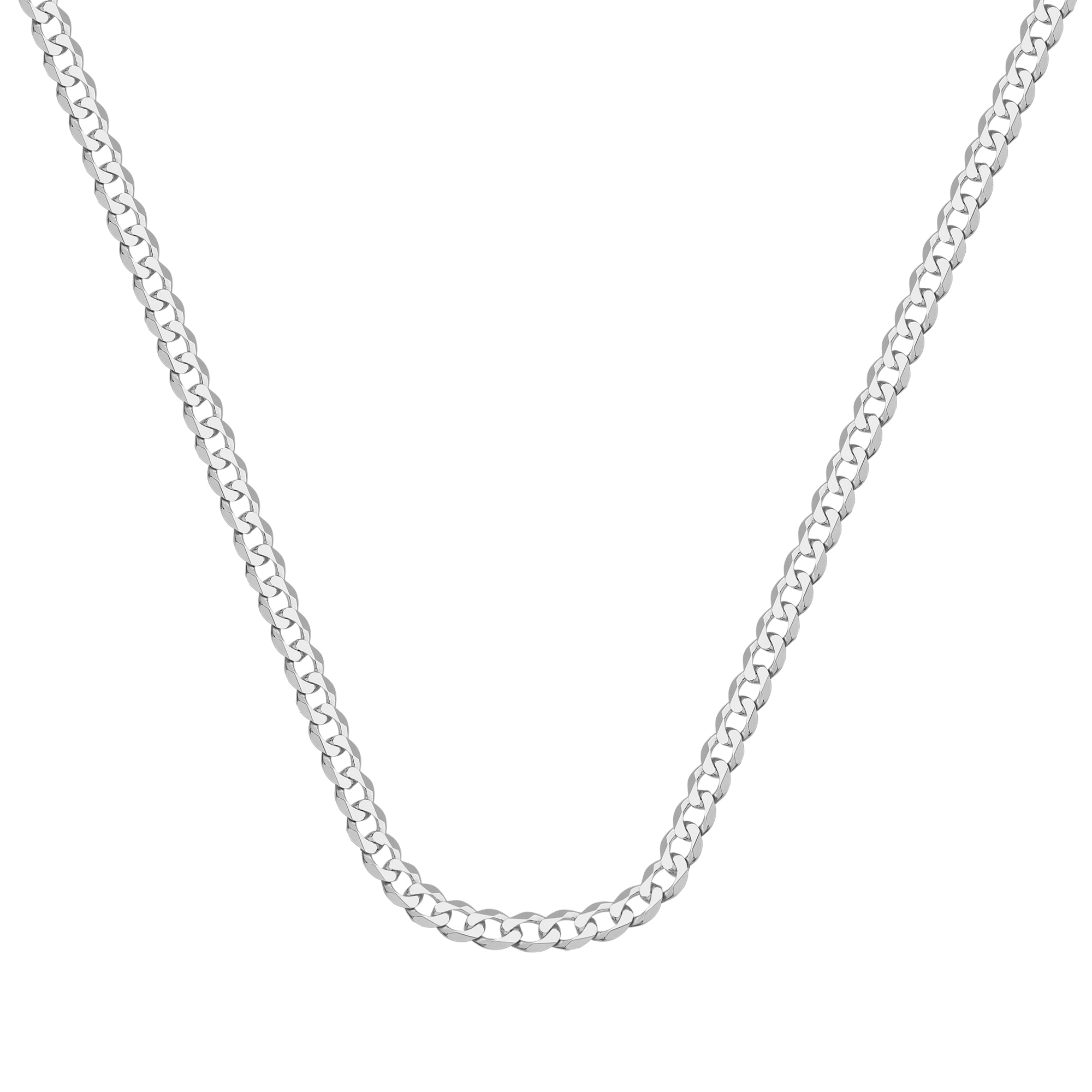 Curb Chain , 14Kt Gold  Curb Chain With Lobster Lock8