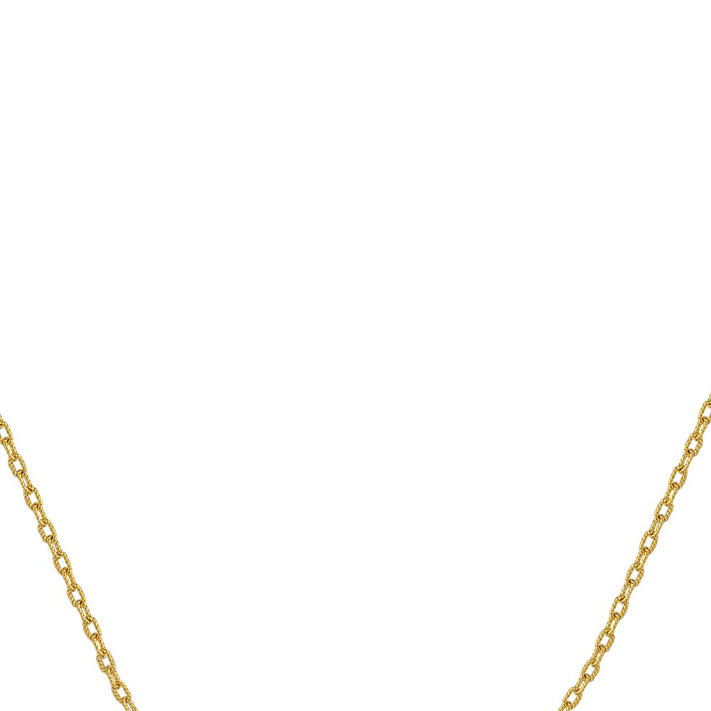 Rollo Chain , 14Kt Gold  Rollo Chain  / 16