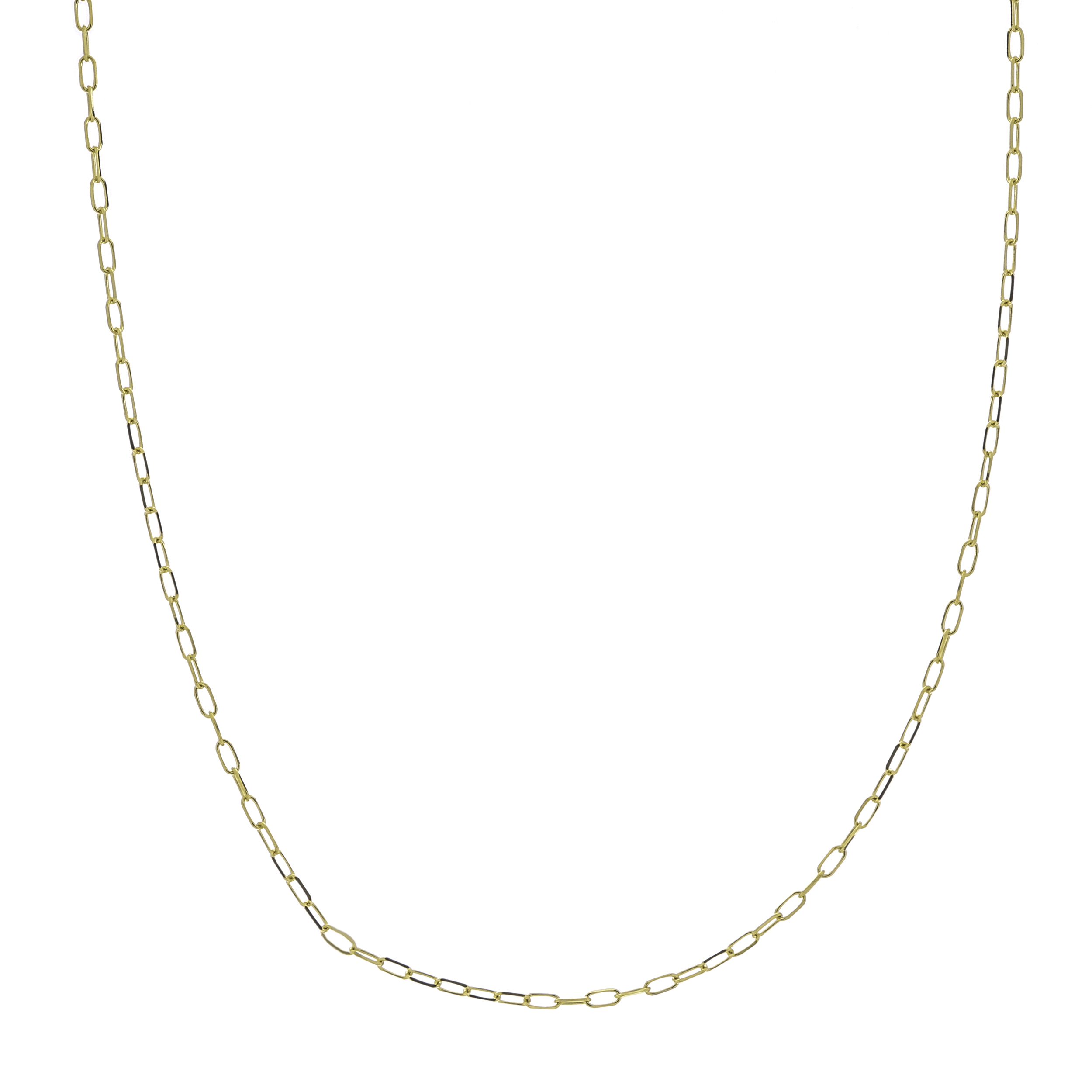 Forzentina Chain, 14Kt Gold  Diamond Cut Forzentina Chain / 24