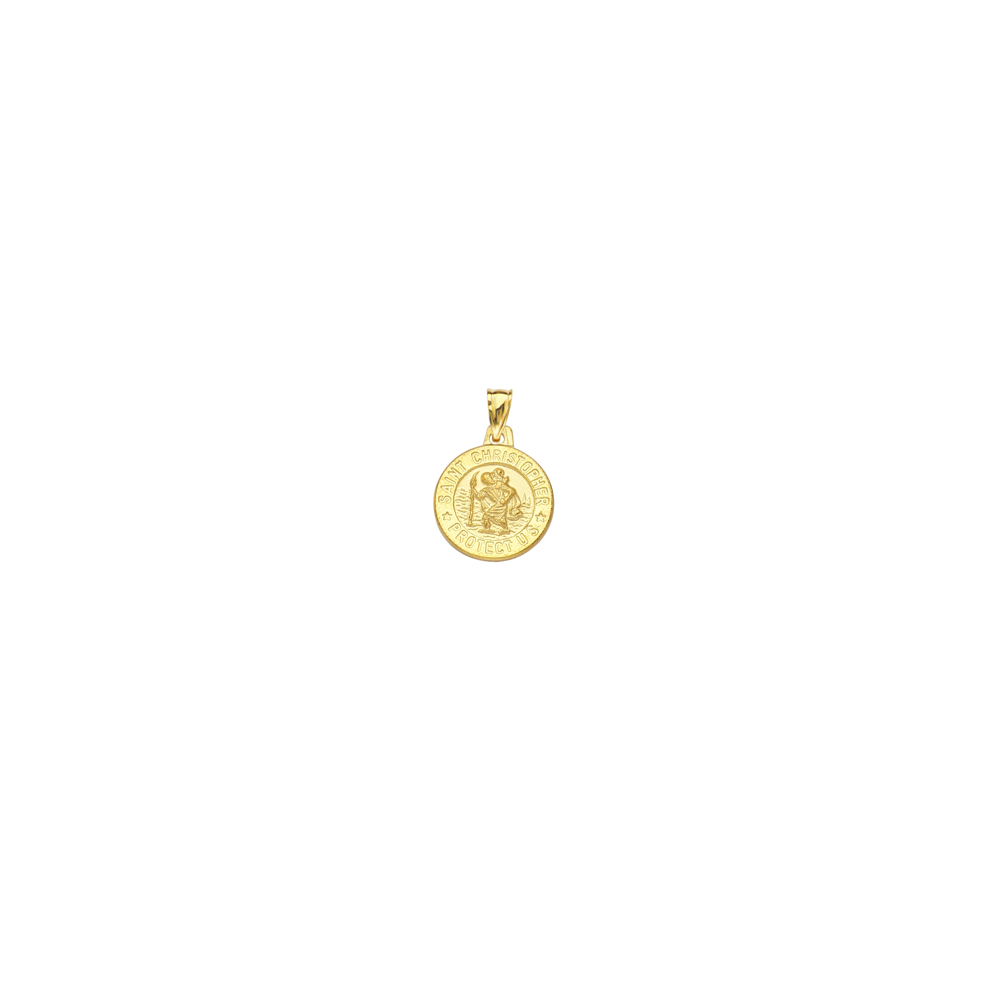 Saint Christopher,14Kt Gold  St. Christopher Medal