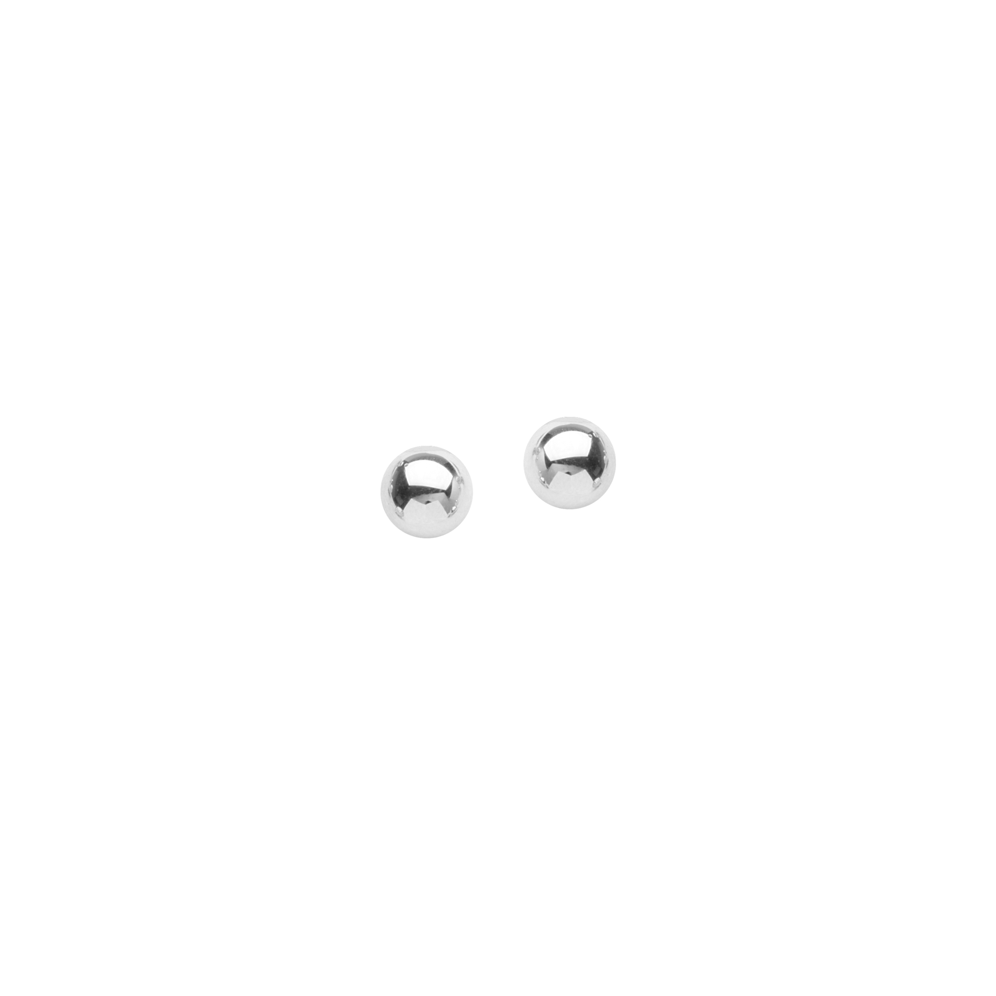 Ball Earrings , 5 Mm Ball Stud Earrings