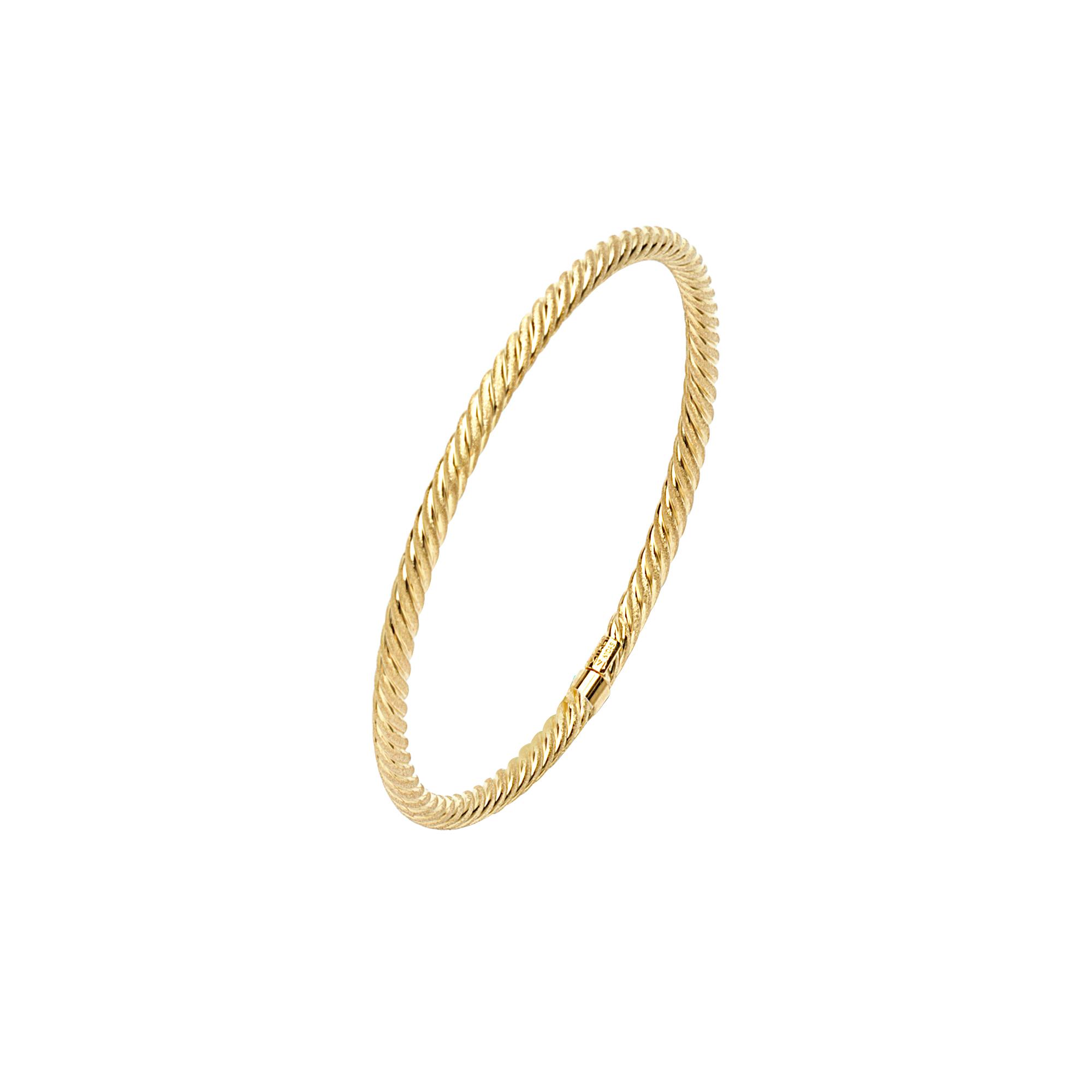 Bangle, 14K Gold Bangle 7.75