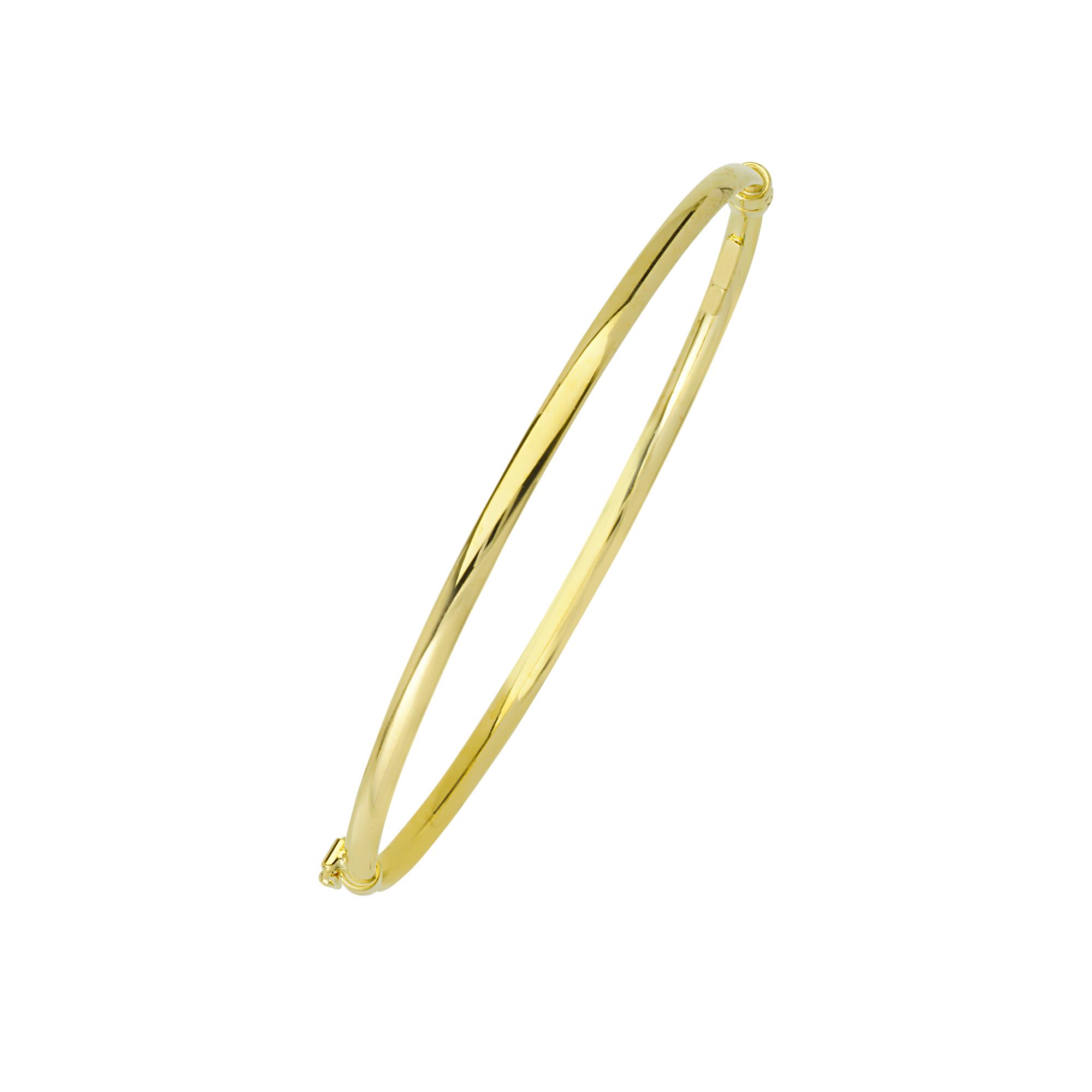 Bangle, 14K Gold Bangle 7,25