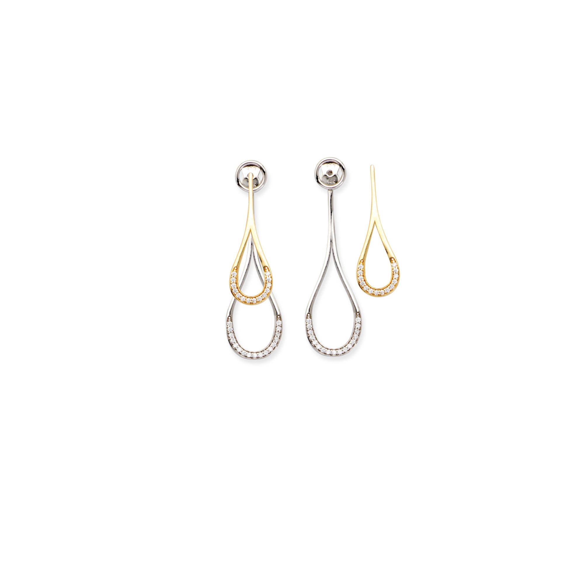 Teardrop Earrings 14kt Gold Earring