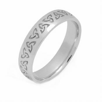 Platinum Celtic Wedding Rings