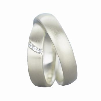 Palladium Wedding Band Sets