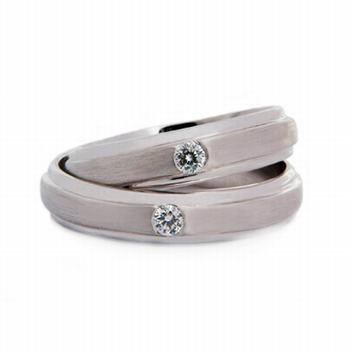 Platinum Wedding Band Sets
